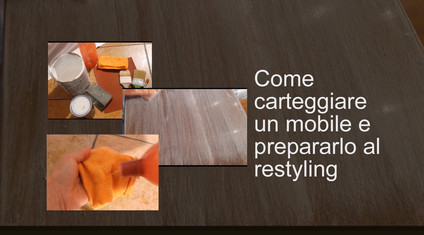 Come Scartavetrare Il Legno come carteggiare un mobile e prepararlo al restyling | bravi