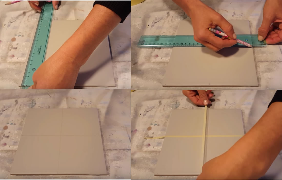 Come decorare le piastrelle con leffetto cementine bravi in casa