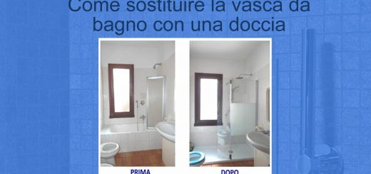 Come Sostituire La Vasca Da Bagno Con La Doccia.Togliere Vasca E Mettere Piatto Doccia Bravi In Casa