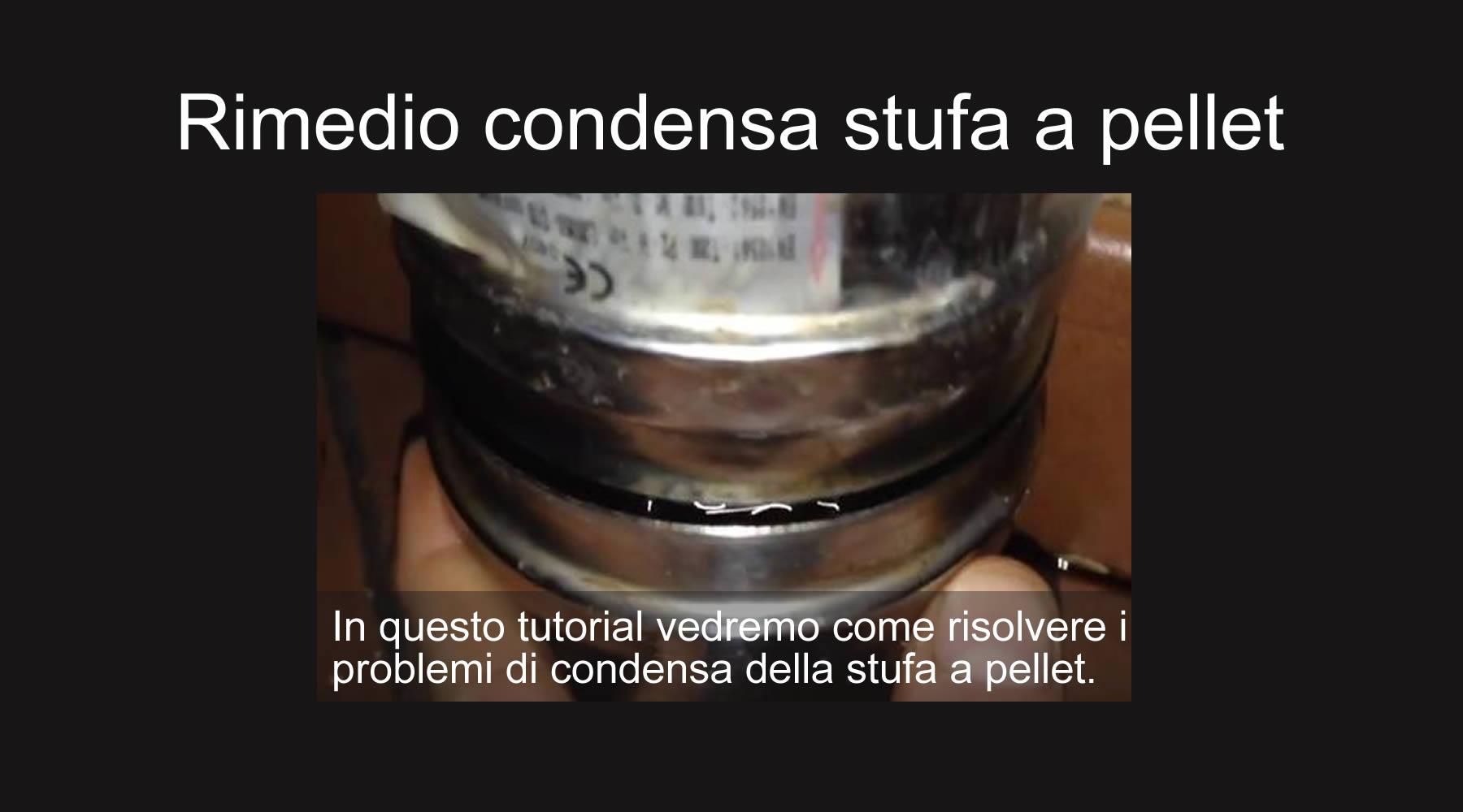 Stufe A Pellet Installazione Esterna rimedio condensa stufa a pellet | bravi in casa